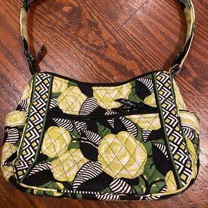 Vera Bradley La Neon Rose Crossbody purse
